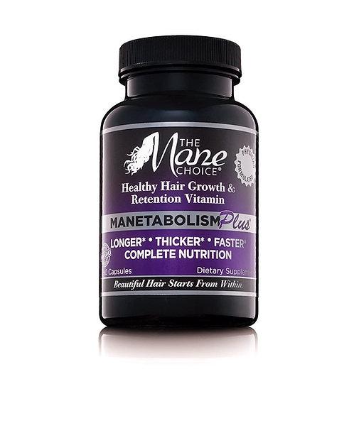 THE MANE CHOICE MANETABOLISM PLUS Healthy Hair Growth Vitamins - 60 capsules