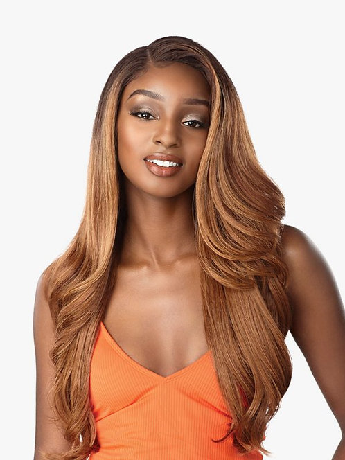 SENSATIONNEL SYNTHETIC DASHLY LACE FRONT WIG - LACE UNIT 7