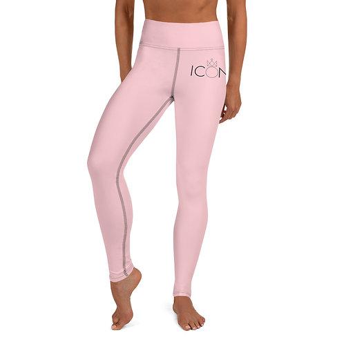 Pink ICON Yoga Leggings