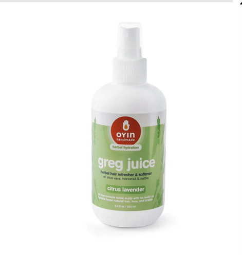 Greg Juice ~ hydrating herbal leave-ins