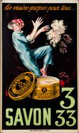 Corbet, Savon 333, lithograph,36.5 x 21