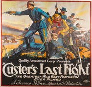 anonymous, Custer's Last Fight, lithogra