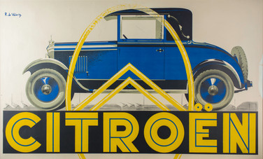 anonymous,CITROEN,lithograph,40 x 60 inc