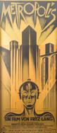 anonymous, Metropolis,lithograph, 83 x 3