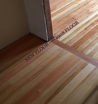 Reclaimed VS New VG Doug Fir Flooring