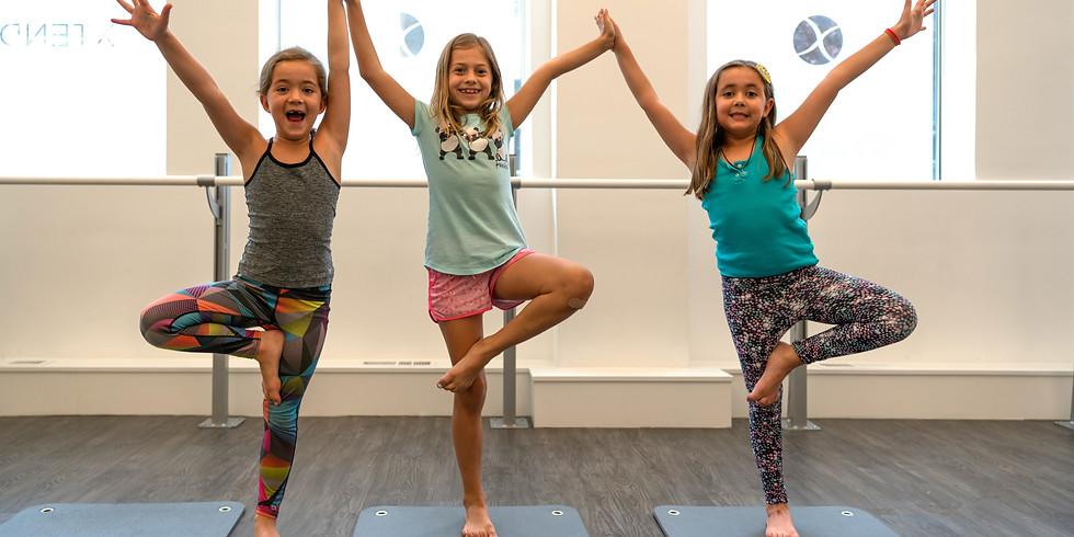 Tuesdays Rockin' Yogis: Ages 8-10