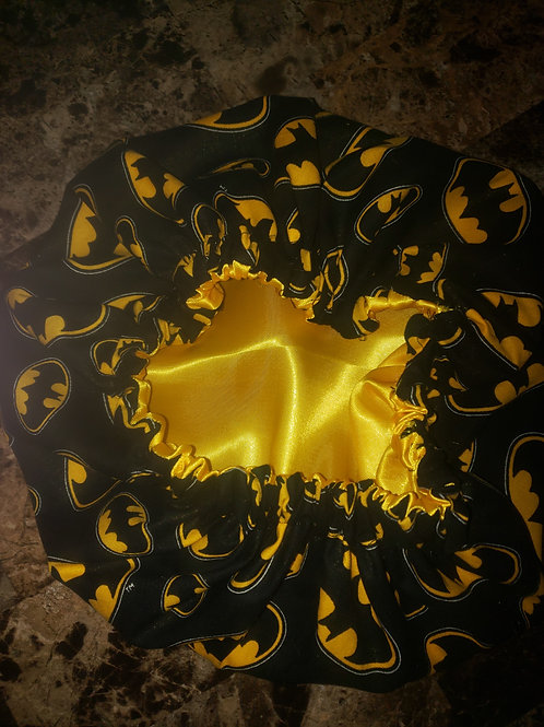 """Bat"" Time Bonnet"