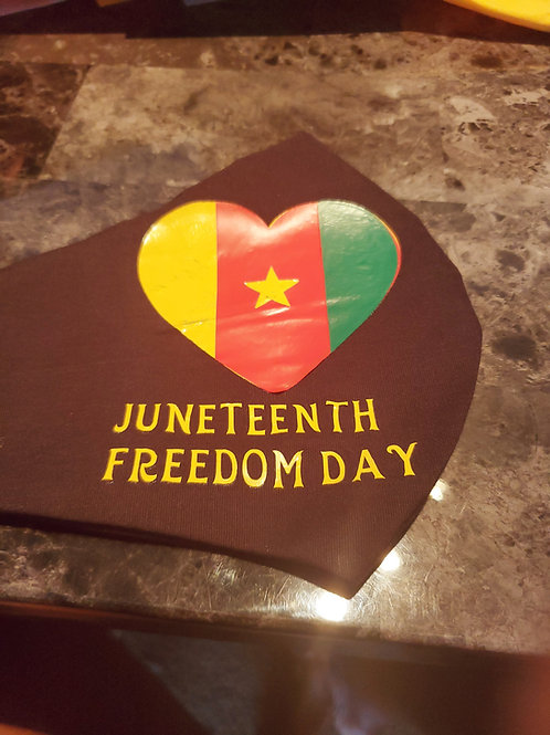 Juneteenth Mask