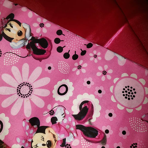 Sleepover at Minnie's Pillow and Bonnet Set