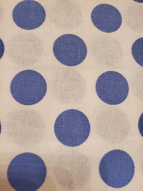 Blue Polka Dots Mask