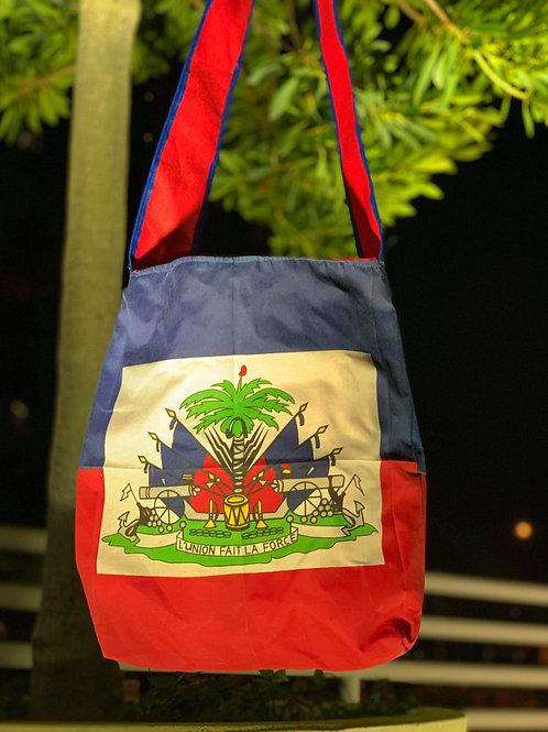 Haitian Flag Messenger Bag
