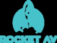 RAV_Teal.png Rocket AV logo dfw dallas event audio visual servces