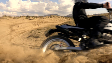 OUR VISION OF FLAT TRACK MOTORCYCLE SUZUKI DR 600 OFF ROAD SCRAMBLER CAFERACER SAND CROSS MOTOCROSS DAINESE AGV