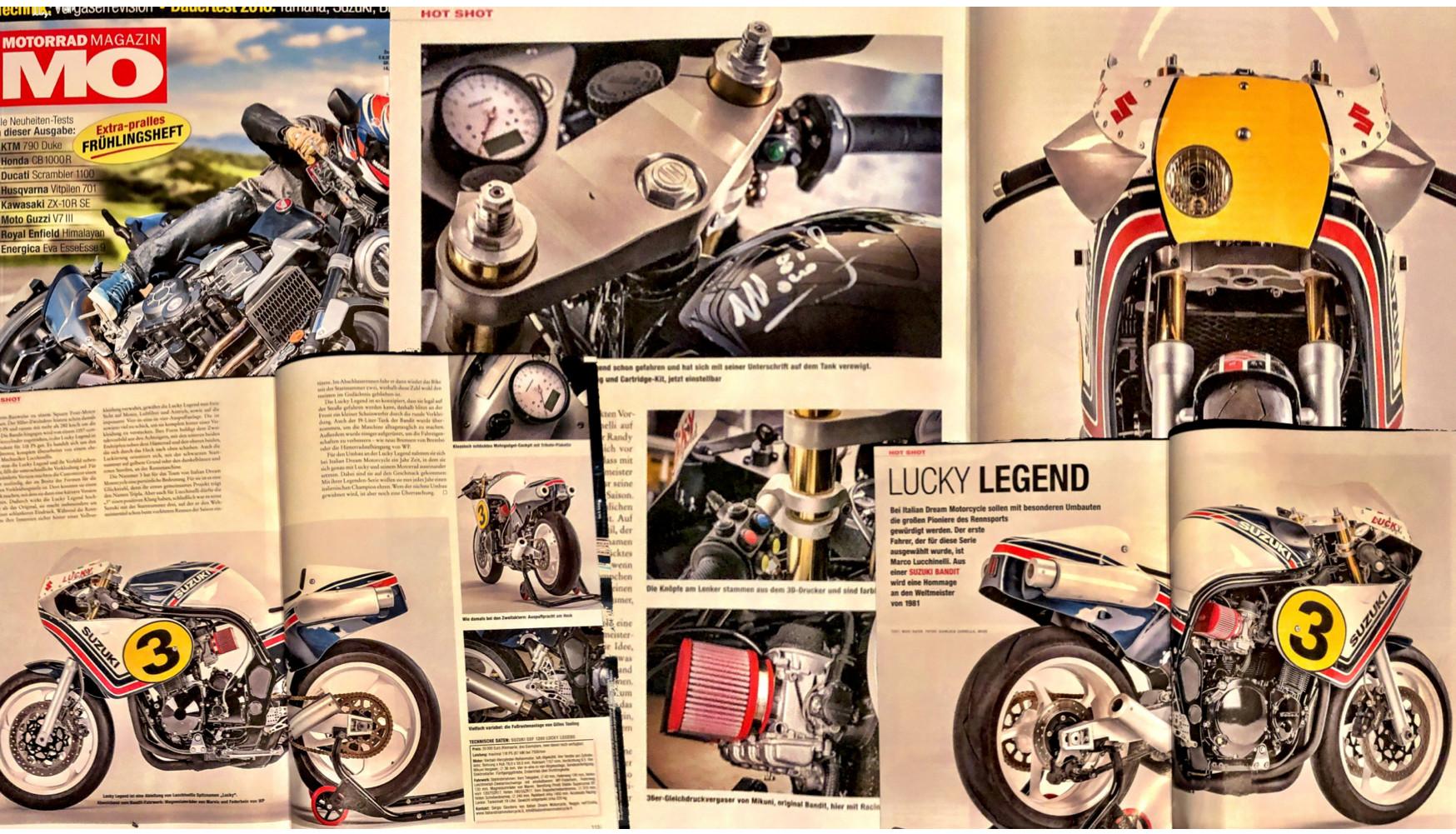 MO MOTORRAD LUCKY LEGEND ITALIAN DREAM M
