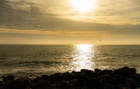 Por do sol - Limekiln State Park - Califórnia - EUA