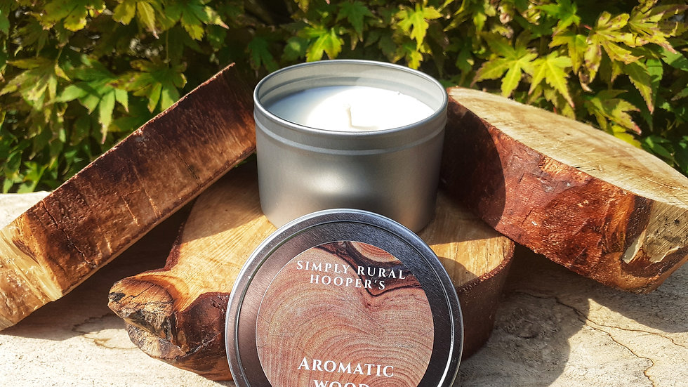 Aromatic Wood Soy Candle