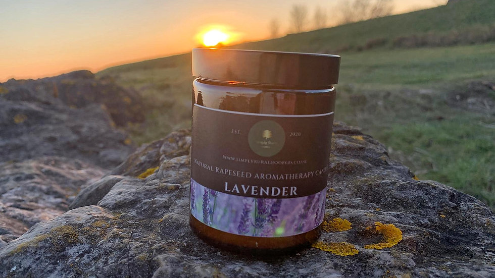 Lavender Rapeseed Aromatherapy Candle