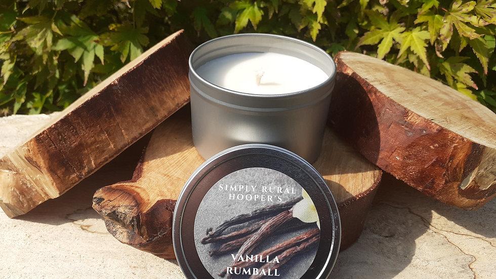 Vanilla Rumball Soy Candle