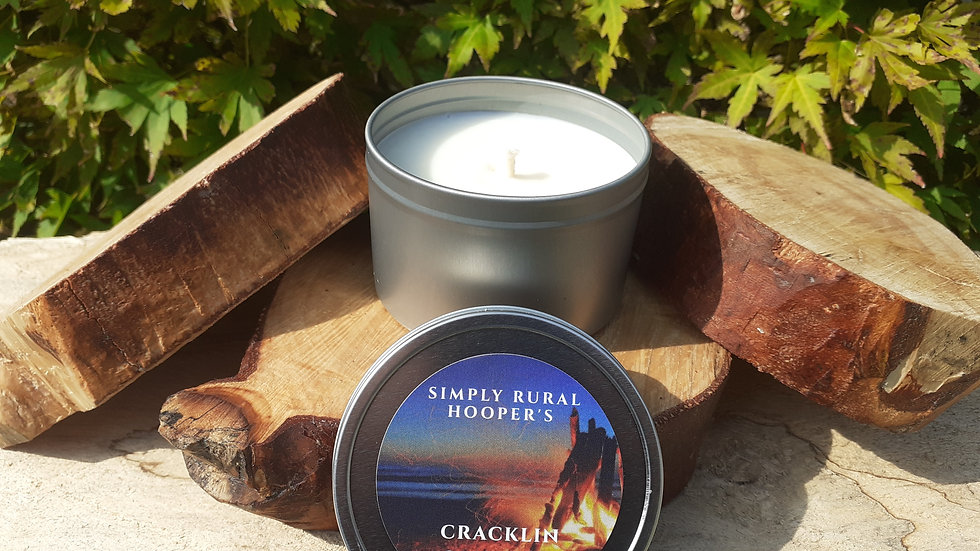 Cracklin Campfire Soy Wax Candle