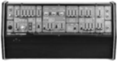 Electronic music artist | Lowfish | Roland system 100 model-102 analog synthesizer