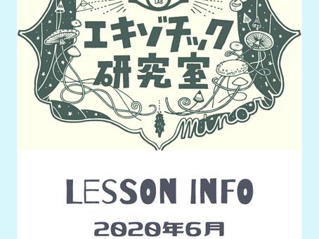 Lesson info - june -