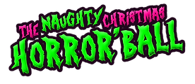 transparent Naughty Xmas Horror'Ball LOG