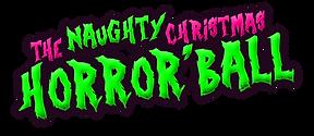 transparent Naughty Xmas Horror'Ball LOG