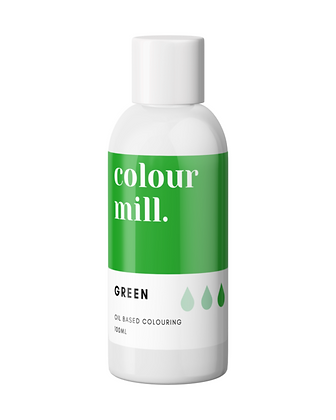 green colour mill, green colour mill oil based colouring, colour mill, colour mill 100ml, green colour mill 100ml