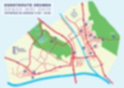 Kaart Kunstroute Heumen 2019