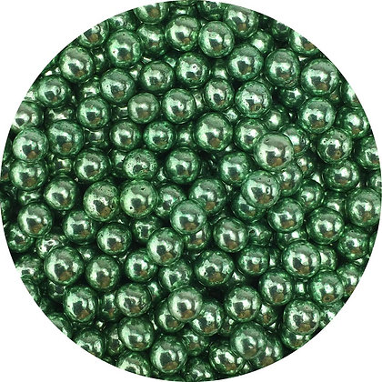 Celebakes Green 5mm Dragees