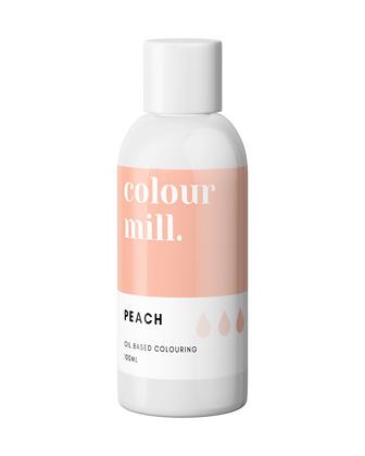 peach colour mill, peach colour mill oil based colouring, peach colour mill 100ml, colour mill 100ml
