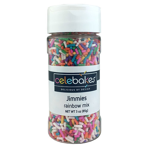 Celebakes Rainbow Mix Jimmies
