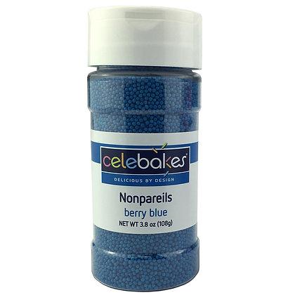 Celebakes Berry Blue Nonpareils