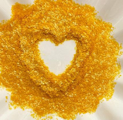 Celebakes Gold EDIBLE Glitter Flakes, .25 oz.