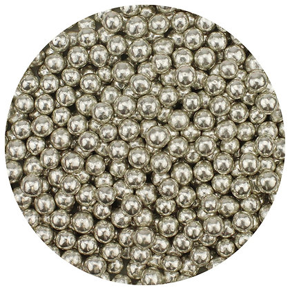 CK Products Silver 4mm Dragees, 4 oz. (Decoration Only)