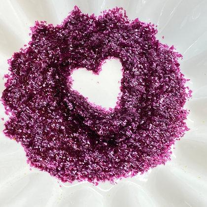Celebakes Burgundy EDIBLE Glitter Flakes, .25oz.