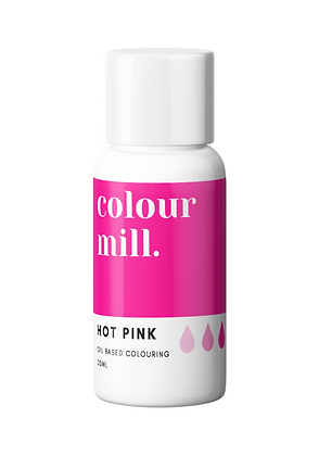 hot pink colour mill, colour mill, hot pink colour mill oil based coloring, hot pink colour mill 20ml, hot pink coloring oil