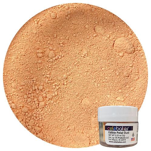 Celebakes Nectarine Edible Petal Dust, orange petal dust, petal dust