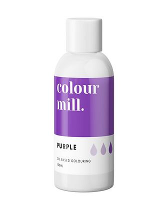 purple colour mill, purple colour mill oil based colouring, colour mill, colour mill 100ml, purple colour mill 100ml