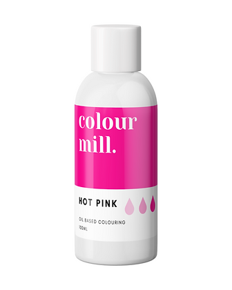 hot pink colour mill, hot pink colour mill oil based colouring, colour mill, colour mill 100ml, colour mill hot pink 100ml
