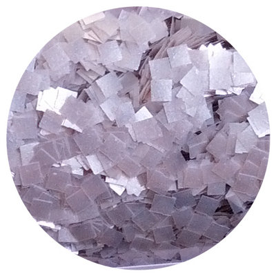 CK Products Silver Square Edible Glitter