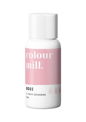 rose colour mill, colour mill, rose colour mill oil based colouring, rose colour mill 20ml. , oil based colouring,