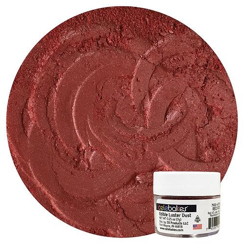 Celebakes Red Rose EDIBLE Luster Dust, .25 oz.