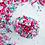 Sweetapolita ALWAYS A BRIDESMAID Twinkle Sprinkle Medley, teal sprinkles, hot pink sprinkles, sprinkle mixes