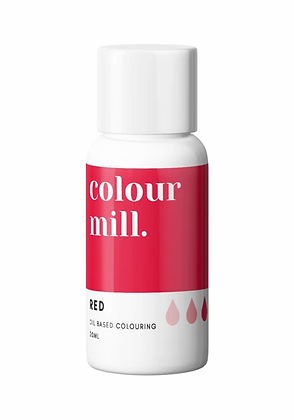 red colour mill, colour mill, red oil based coloring, red colour mill 20ml, red colour mill oil based coloring