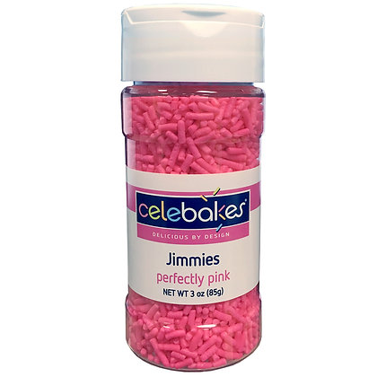Celebakes Perfectly Pink Jimmies