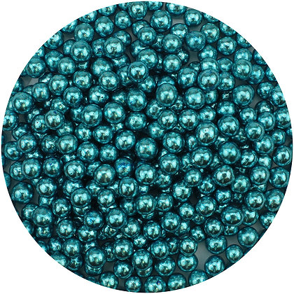 Celebakes Blue 5mm Dragees, 4 oz. (Decoration Only)