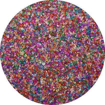 Celebakes Rainbow Sanding Sugar, 4 oz. (1/2 cup)