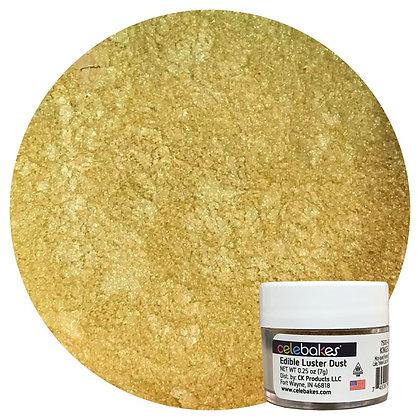 Celebakes Kings Gold Edible Luster Dust, Gold Luster, Gold Luster Dust