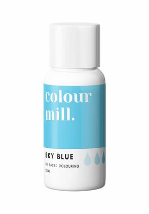 sky blue colour mill, sky blue colour mill oil based colouring, colour mill, sky blue colour mill 20ml. sky blue oil based